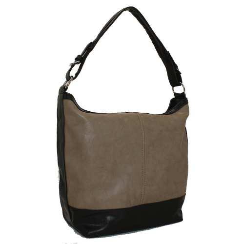Жіноча сумка із цупкого шкірзамінник