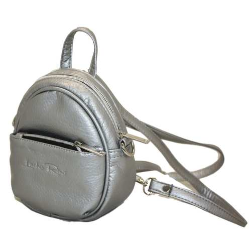 Рюкзак зі шкірзамінника.