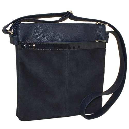 Зручна сумка із замшевого матеріалу