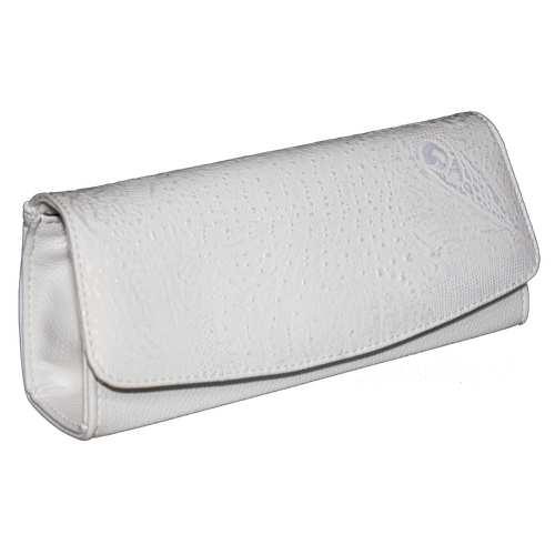 Каркасна сумка-клатч зі шкірзамінника