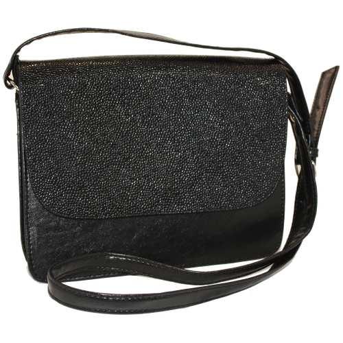 Жіноча сумка з високоякісного шкірзамінника