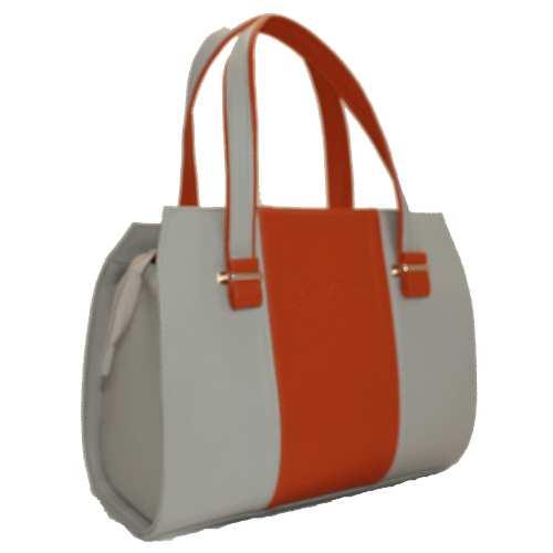 Жіноча каркасна сумка зі шкірзамінника високої якості.