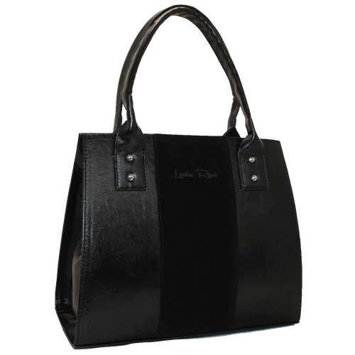 Комбінована каркасна сумочка