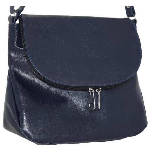 """Оригінальна сумка на довгому ремінці від українського бренду ТМ """"LucheRino"""" дуже якісна та зручна у використанні. Виготовлена з шкірзамінника високої якості з легким блиском. Два зручних відділення розділених кишенею-перегородкою. Зачиняється на блискавку"""