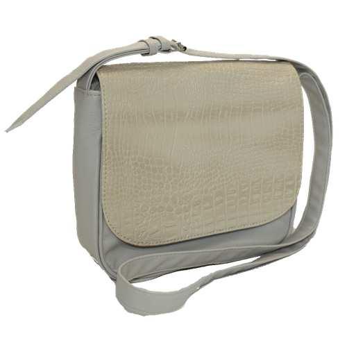 """Сумка-месенджер (Messenger Bag) представлена українською торгівельною маркою """"Камелія"""". Модель виготовлена з високоякісного шкірзамінника та надійної міцної підкладки. Сумка з вмонтованим довгим регульованим ремінцем. Весь виріб зачиняється на блискавку, яка ховається під прихованим магнітним клапаном."""