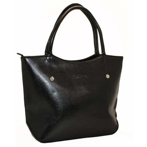 """Велика вмістка сумка в класичному стилі від українського бренду ТМ """"LucheRino"""". Виготовлена з шкірозамінника високої якості з легким відблиском, а підкладка з цупкого текстильного матеріалу. Зручні два відділення розділені кишенею-перегородкою.Внутрішні кишені додадуть впорядкованості у вашій сумці."""