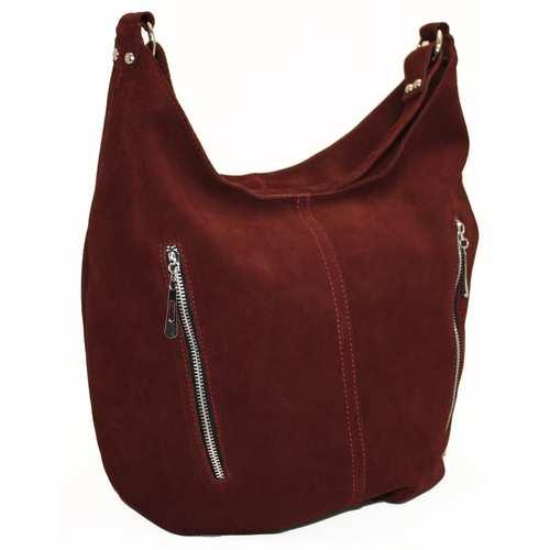 Жіноча сумка із замши
