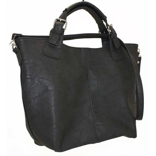 """Стильна сумка великого розміру представлена українським брендом ТМ """"LucheRino"""". сумка виготовлена з високоякісного шкірзамінника"""