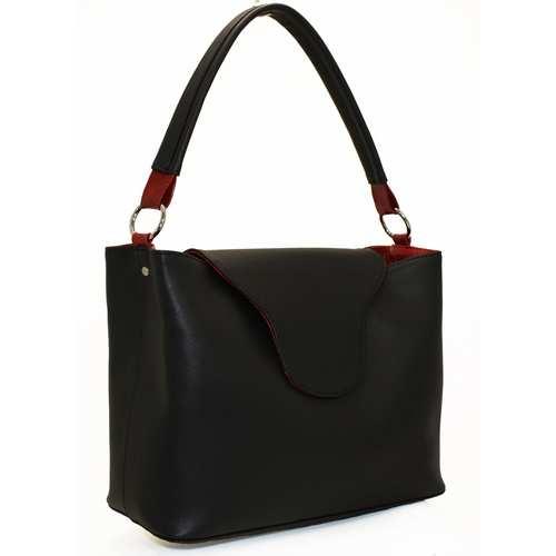 Жіноча сумка із шкірзамінника високої якості.